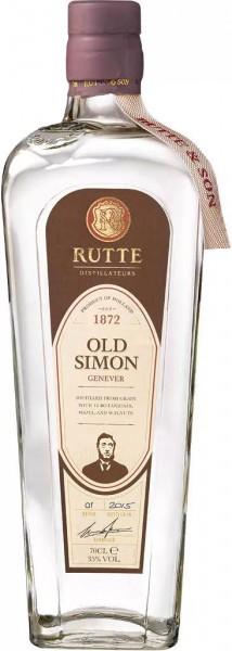 Rutte Old Simon Genever 35 % 0,7 l