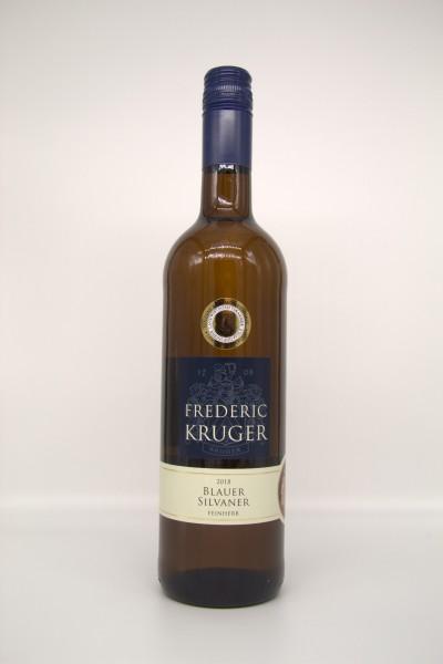 2020er Kruger Blauer Silvaner feinherb 12 % Vol. 0,75 l