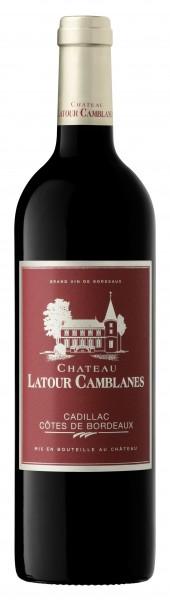 2016er Chateau Latour Camblanes Cadillac Cotes de Bordeaux AOC 0,75 l