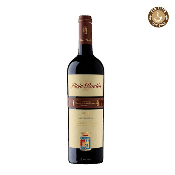 2013er Bodegas Franco-Espanolas Rioja Bordon Gran Reserva D.O.Ca. 13,5 % 0,75 l